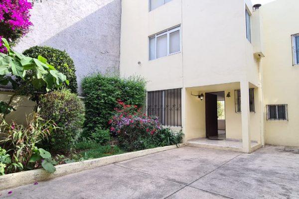 Casa con jardín y patio en renta, Colonia San Pedro de los Pinos