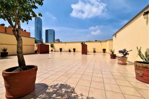 Departamento con balcón en renta Colonia Acacias